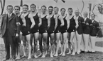1934 British men's team led by Harold Fern